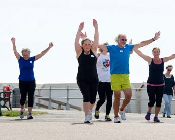 Beginners running class in Bexhill