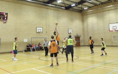 Summer Basketball league at Battle Area Sports Centre