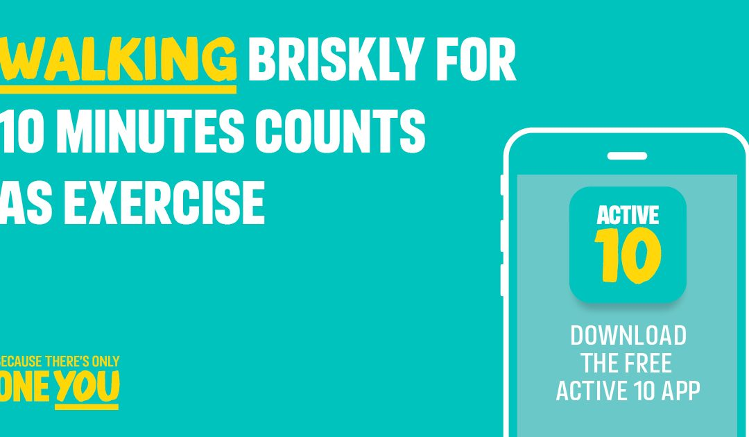 10 brisk minutes with Active 10