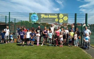 Game, set and match for summer tennis sessions